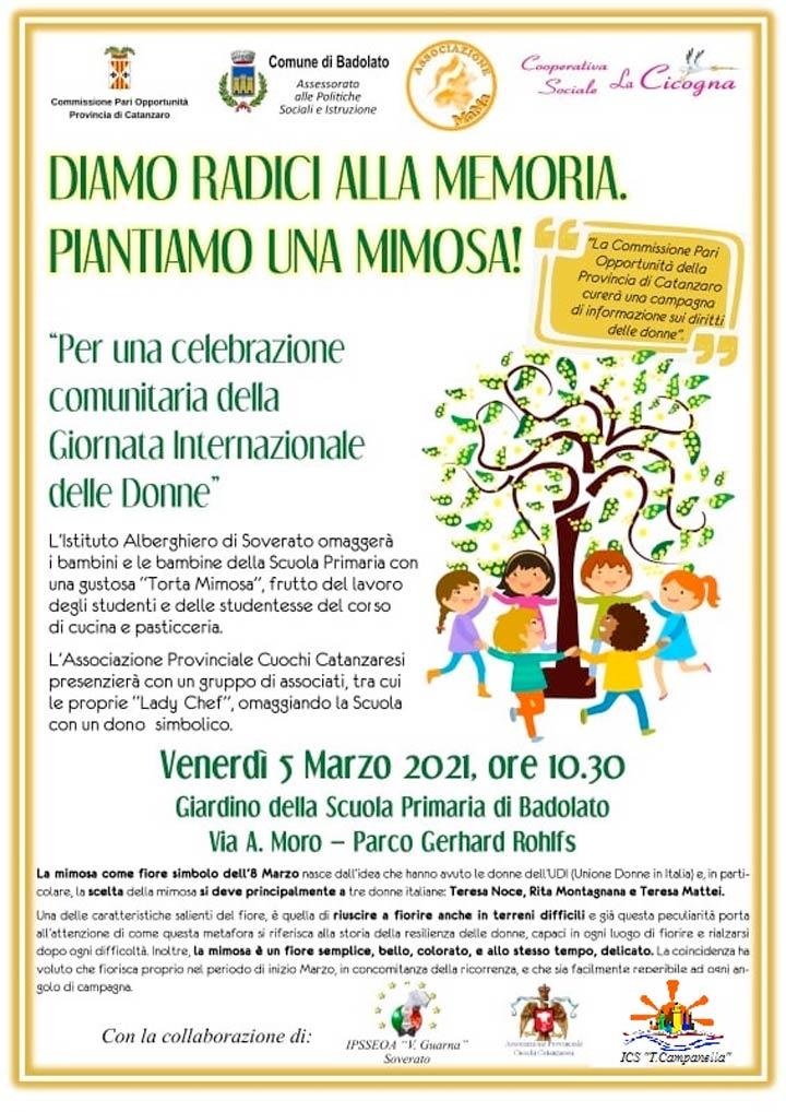 badolato iniziativa 5 marzo