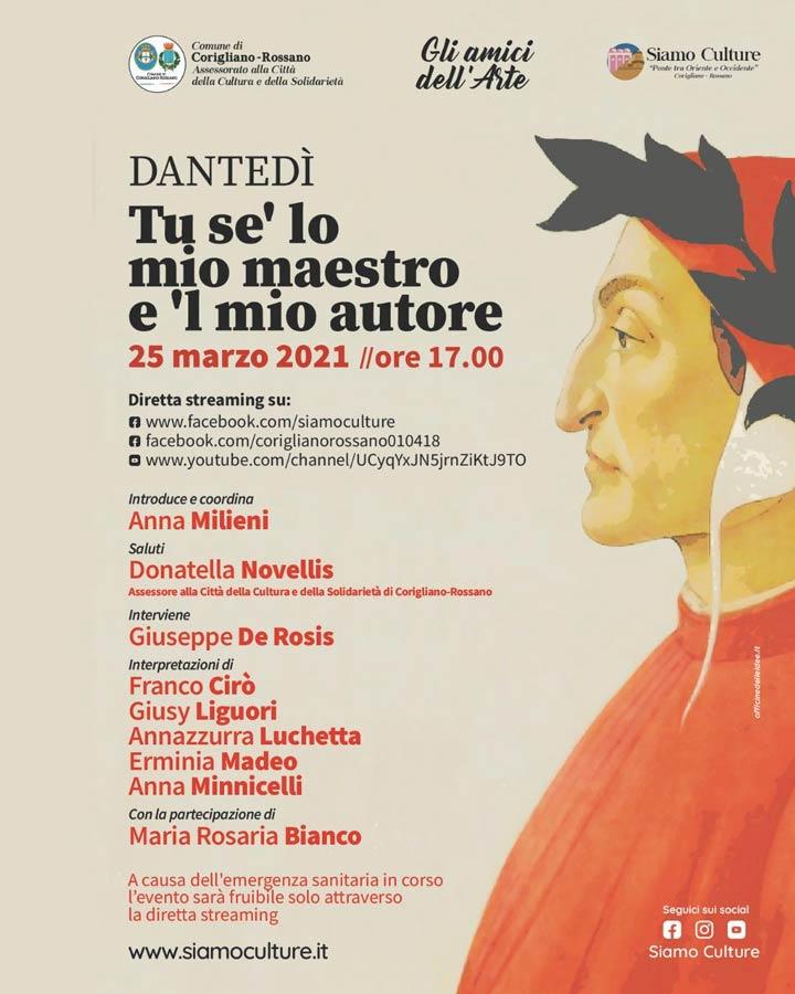 evento su Dante