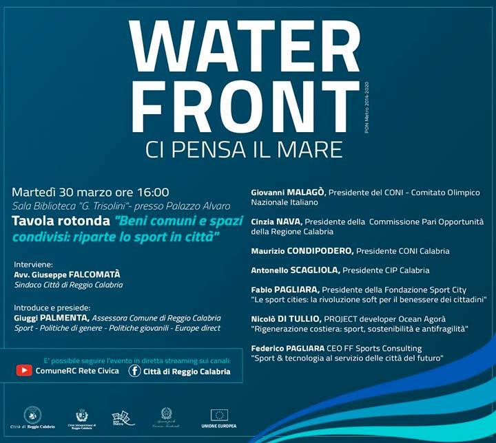 evento per il waterfront RC