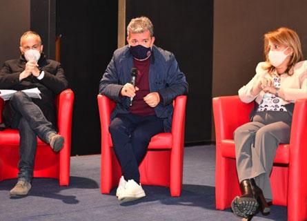 Alessandro Morelli, Nino SPirlì e Domenica Catalfamo
