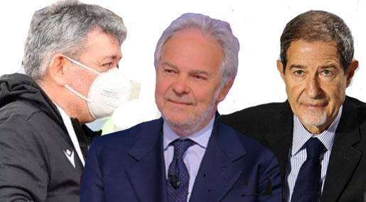 Nino Spirlì, Pietro Salini e Nello Musumeci