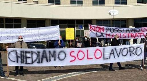 Lavoratori Terme Luigiane a rischio occupazione
