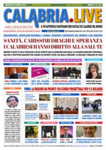 Calabria.Live 20 aprile 2021