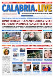 Calabria.Live 8 aprile 2021