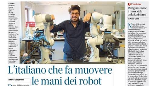 Giuseppe Averta su Corriere della Sera