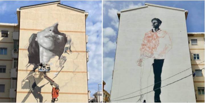 Murales Gullace e Malerba a Reggio