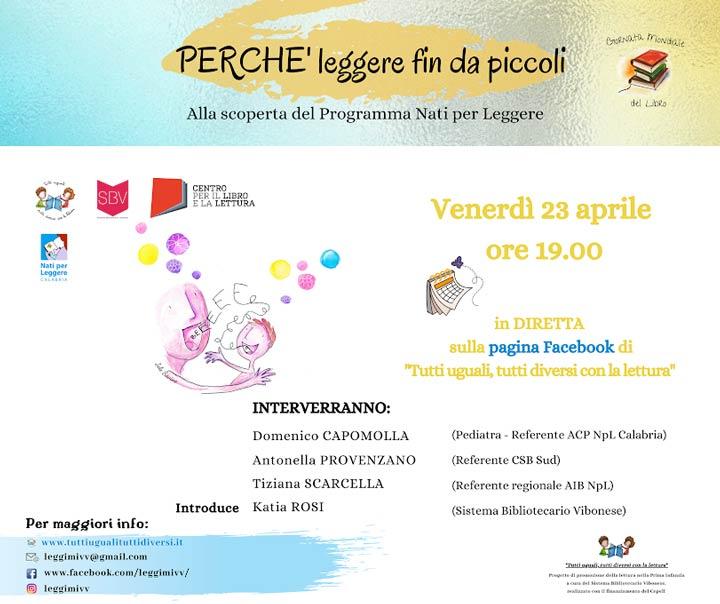 Sistema Bibliotecario Vibonese evento online