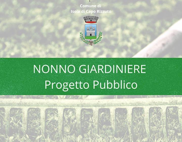 Progetto Nonno Giardiniere