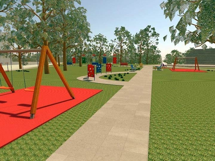 parchi robinson e nicolas Green di Rende uniti