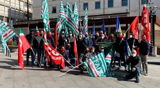 Protesta a Catanzaro