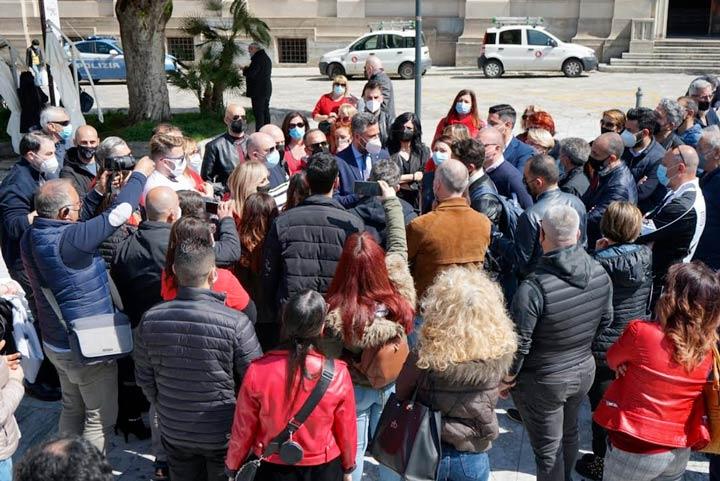 Reggio protesta