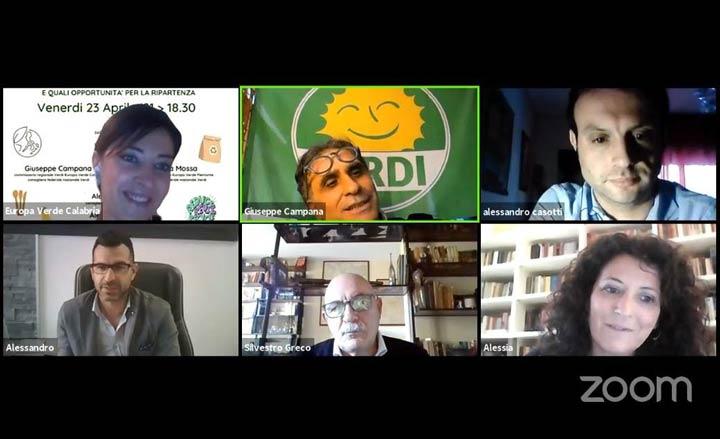 Europa Verdi-Verdi Calabria webinar