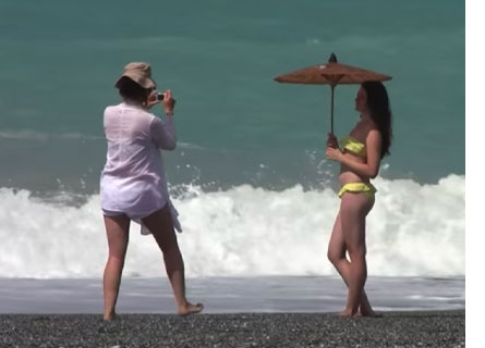 Mare di Calabria d'estate