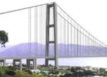 Il rendering del Ponte del progetto approvato