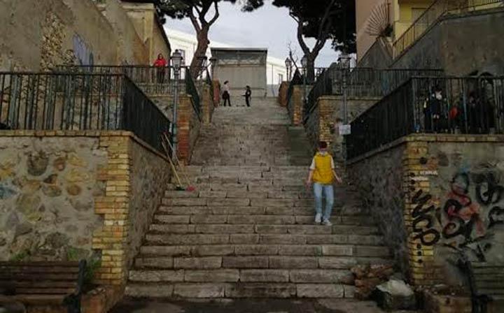 Scalinata Via Giudecca RC