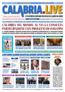 Calabria.Live 23 maggio 2021