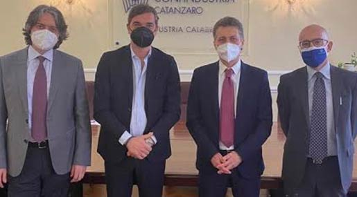 Unindustria Calabria incontra Fincalabra