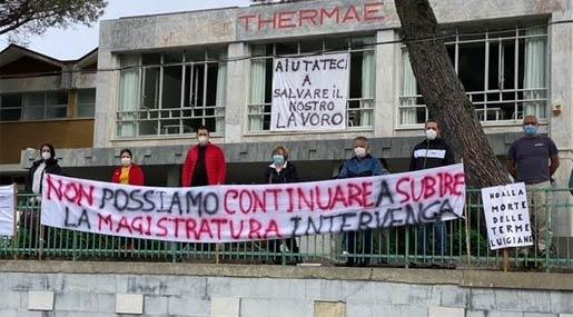 Lavoratori Terme Luigiane