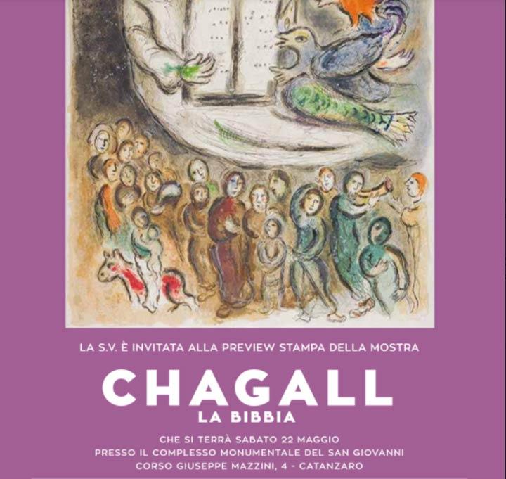 Chagall. La Bibbia mostra a Catanzaro
