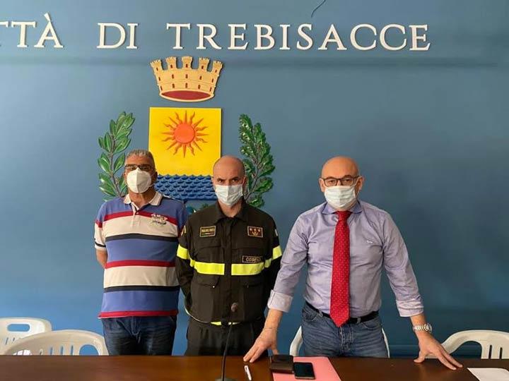 comandante vigili del fuoco di Cosenza a Trebisacce