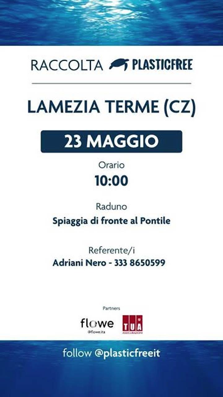 giornata plastic free Lamezia Terme