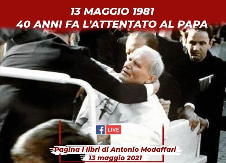 Webinar su attentato a Giovanni Paolo II