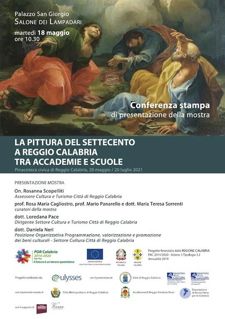 """Mostra """"La Pittura del Settecento a Reggio Calabria"""""""