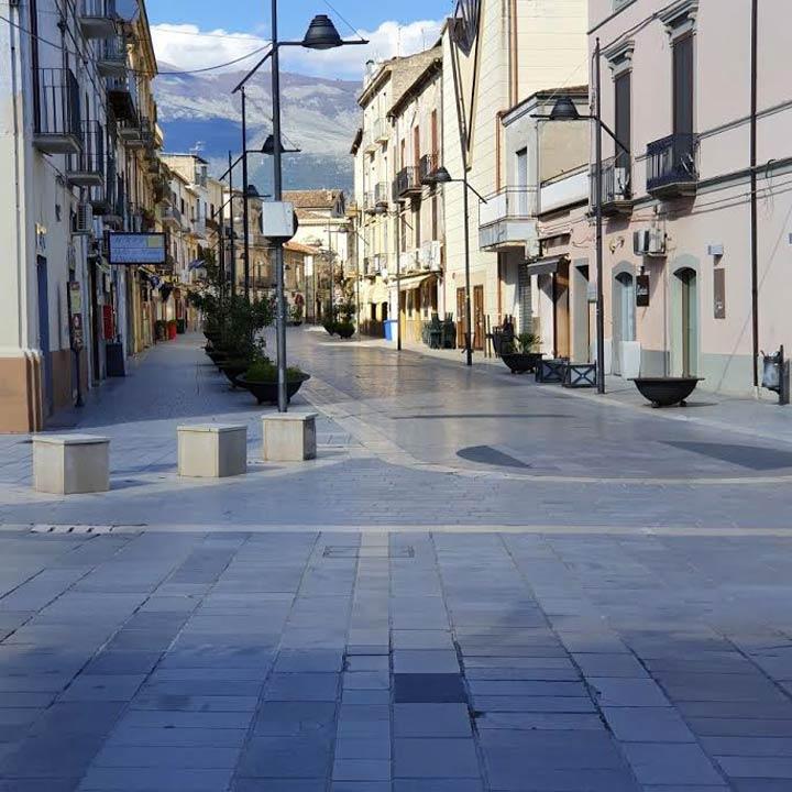 piazza municipio castrovillari