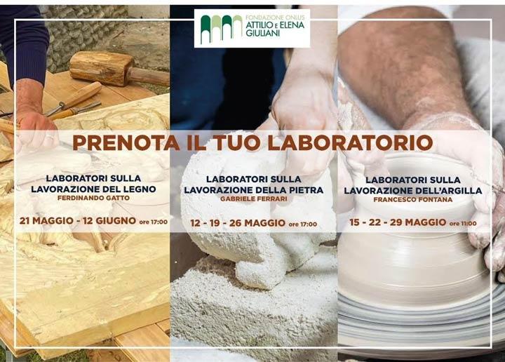 Laboratori a Villa Rendano