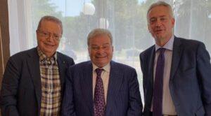 Giuseppe Nisticò, Roberto Crea e Gianluca Gallo