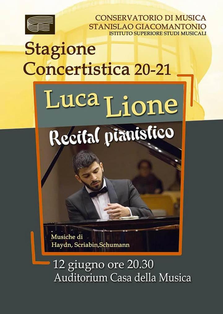 concerto Luca Lione