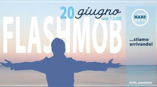 flashmob abbracciamoilmare