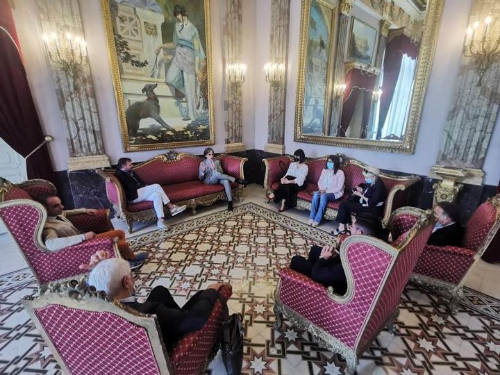 incontro per Centenario palazzo S Giorgio RC