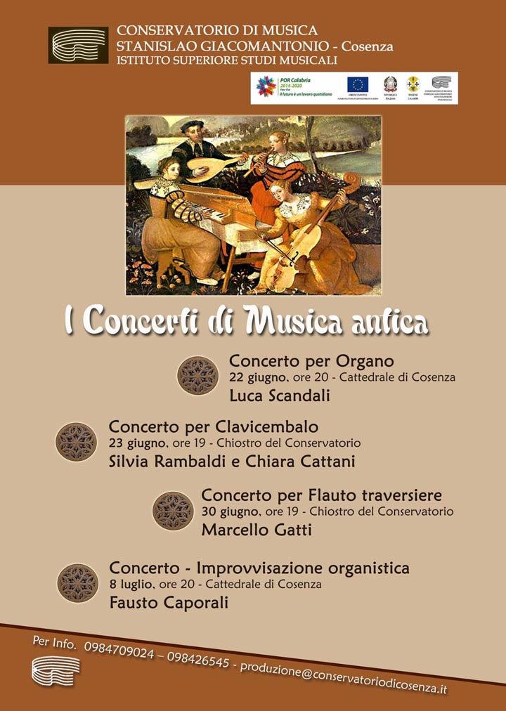concerti conservatorio di Cosenza