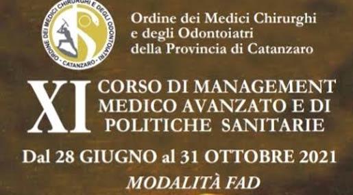 Corso Management e politiche sanitarie