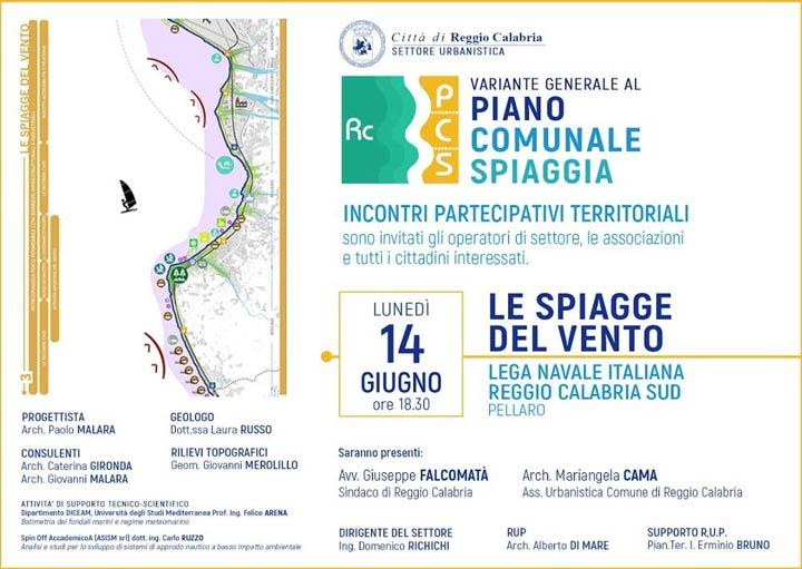 piano spiagge Reggio Calabria