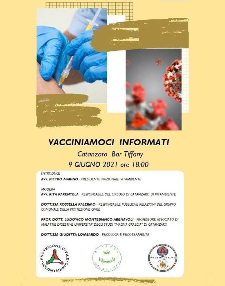 vacciniamoci informati evento