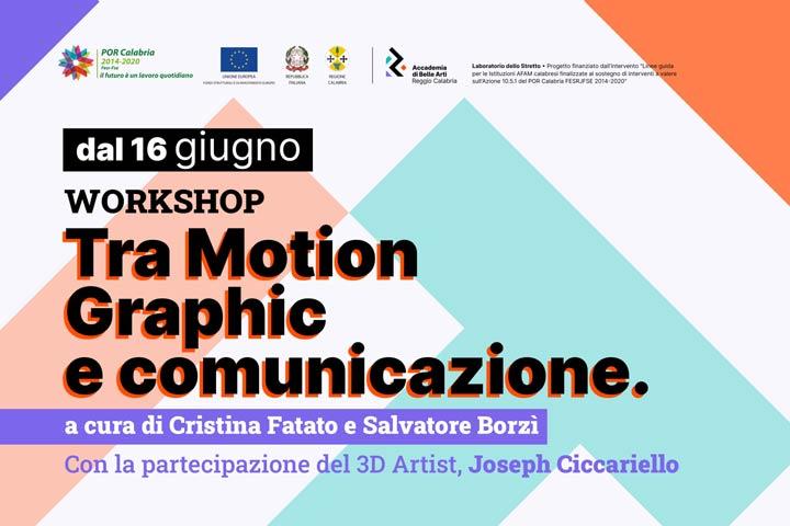 workshop accademia belle arti rc