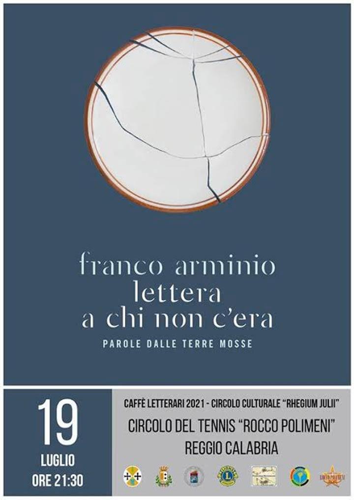 Caffè Letterari, incontro con Franco Arminio