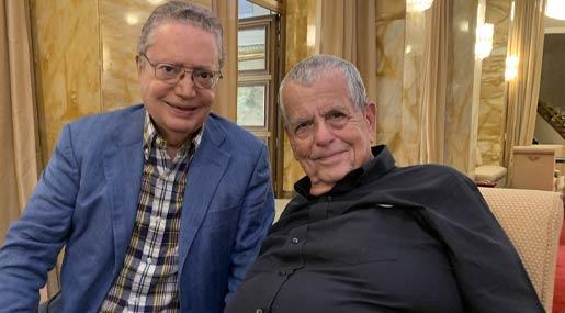 Giuseppe Nisticò e Aaron Ciechanover