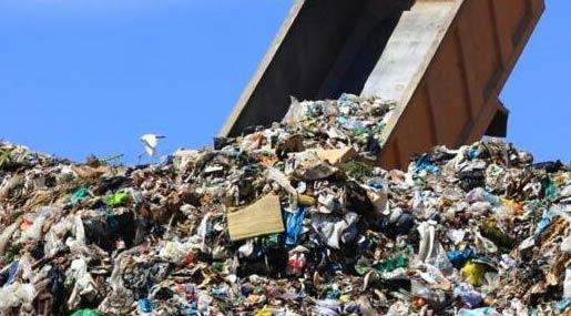 Discarica rifiuti in Calabria