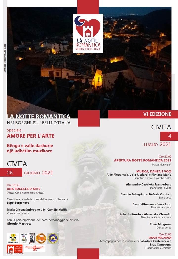 Notte romantica Civita