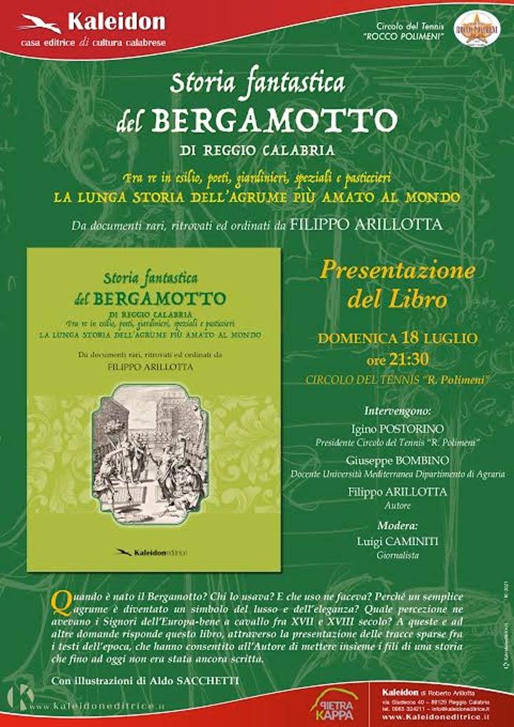 Libro Storia Bergamotto di RC