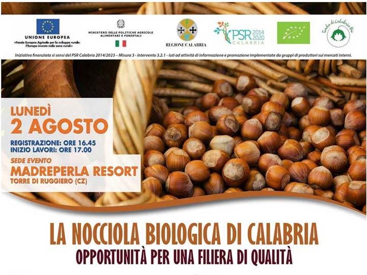Nocciola della Calabria convegno