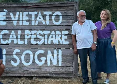 Enzo Ciconte e Jasmine Cristallo