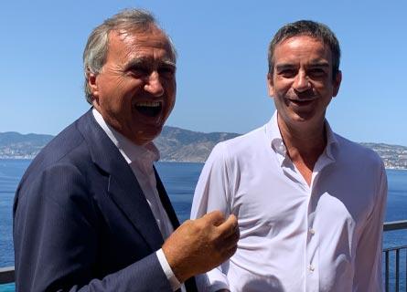 Luigi Brugnaro e Roberto Occhiuto