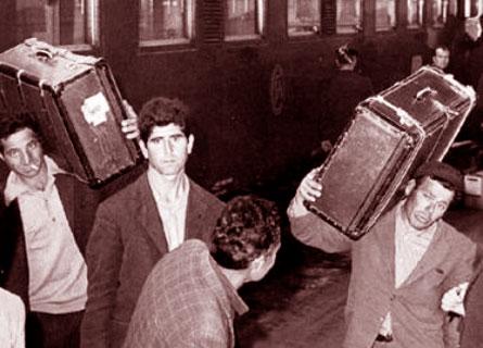 Emigrazione dal Sud anni 50