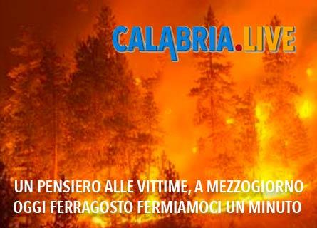 Fermi un minuto a Ferragosto per le vittime in Aspromonte