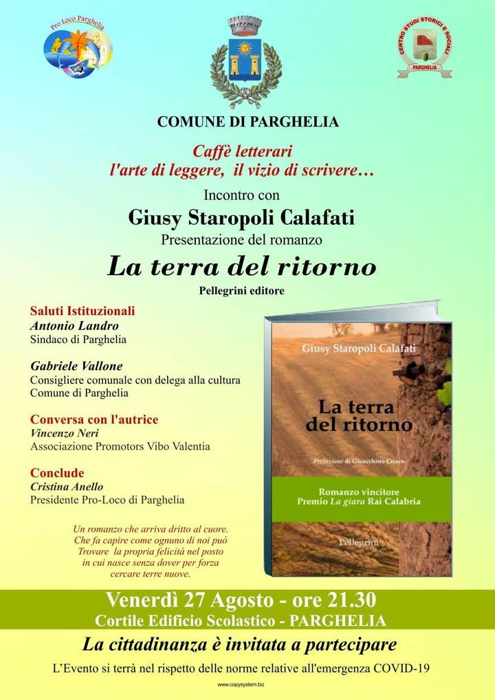 Libro calafati presentazione a Parghelia