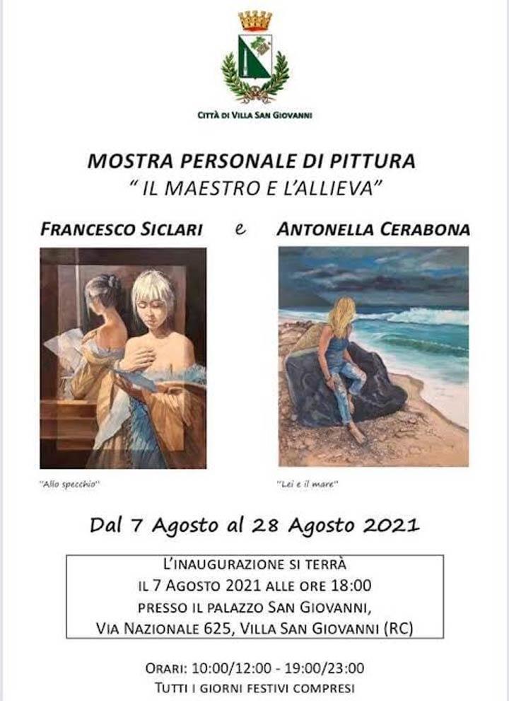 Moestra Maesto e l'allieva a Villa San Giovanni